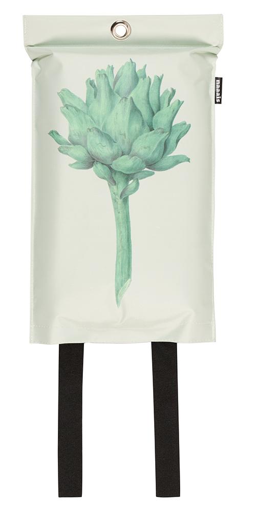 goedgekeurde design blusdeken met artichoqueprint