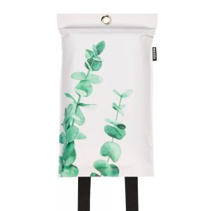 goedgekeurde design blusdeken met eucalyptus print