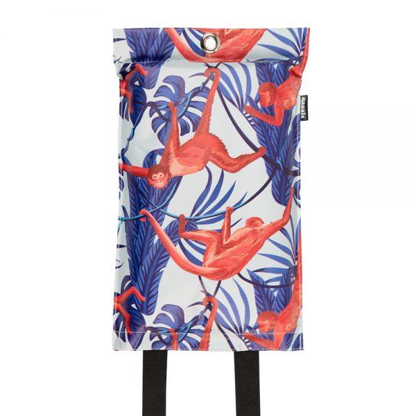 goedgekeurde design blusdeken met apen print