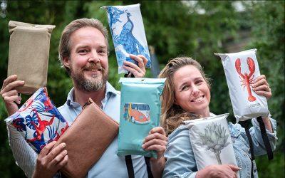 – 'Haarlems bedrijf rekent af met lelijke brandblusdekens'