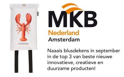 – Naaais blusdekens in top 3 MKB Amsterdam